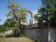 Уцелевшая арка Вознесенского собора